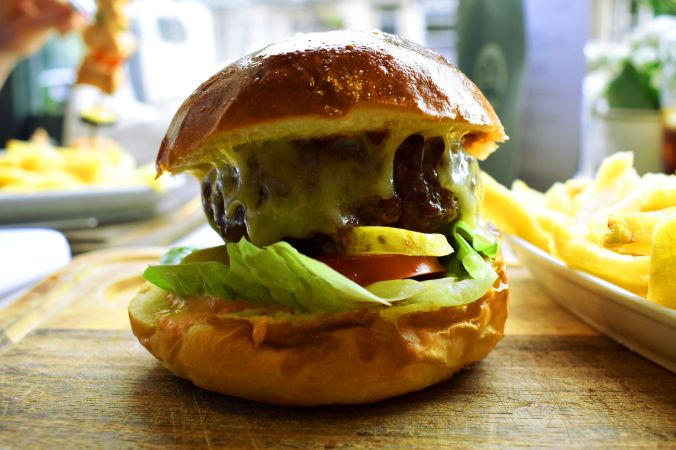 Cowshed burger