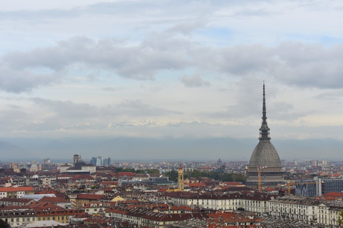 A skyline view over Turin.